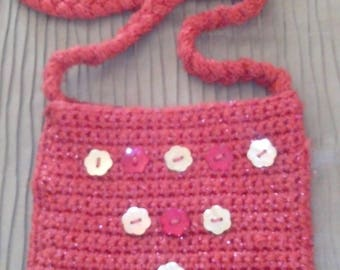 Shimmering cotton POUCH