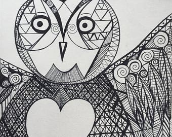 Print Owl