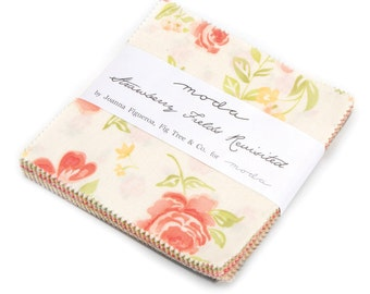 Strawberry Fields Revisited Charm Pack from Moda
