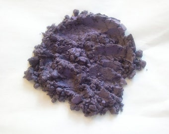 Powdered Mica DEEP BLUE Dark Sapphire Soap Color Mineral Makeup Soapmaking Candles Spa Products