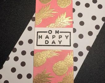 Oh Happy Day Bookmark