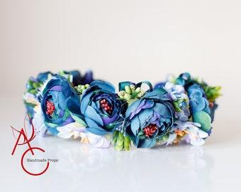 Headbands, Flower headbands, Baby Headband, Flower Girl headbands, Photography props