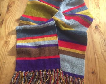 Doctor Who Scarf (made to order)