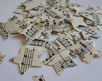 BULK Music Confetti | Sheet Music | 1000 paper stars
