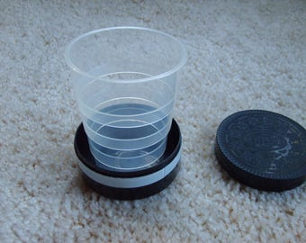 Oreo Plastic Folding Cup, Advertising Oreo Cup