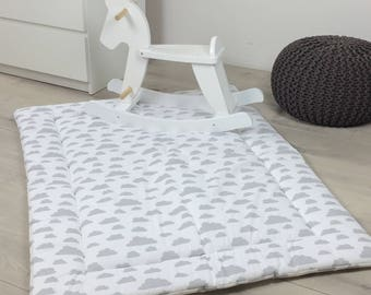"""Puckdaddy Play Mat """"Clouds White"""""""
