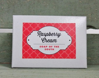 Raspberry Cream Soap Bar