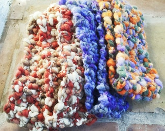 SALE!!! Infinity Scarf 100% Virgin Wool in Only 3 Colors...Limited Quantity Yarn is Discontinued!