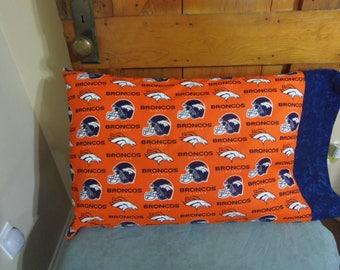 Denver Bronco Pillow Case