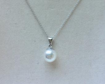 Royale Pearlette Akoya Pearl Sunshine Pendant Necklace