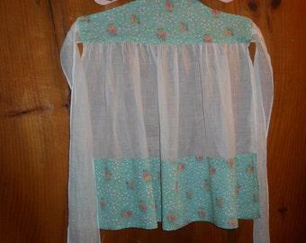 Vintage child's half apron
