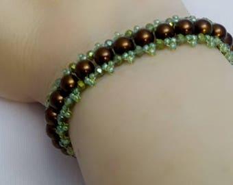 """Handmade Bracelet """"Riverwalk"""""""