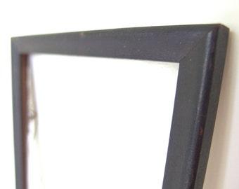 Vintage 5x7 Black Wood Picture Frame