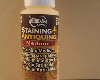Staining Antiquing Medium for Acrylics