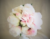 Blush pink peony keepsake...