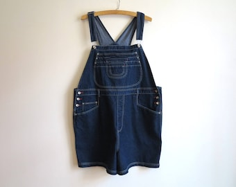 Blue Denim Overalls Bib Overall Jumpsuit Womens Jean Overalls Size 3X Big Womens  Classic Overalls Shorts