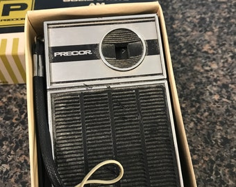 Vintage Precor AM Portable Radio