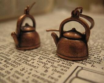 Adorable Tea Pot Earrings