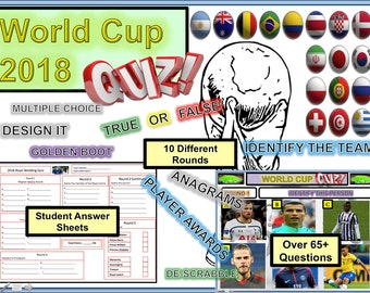 Fifa World Cup Party Game Quiz