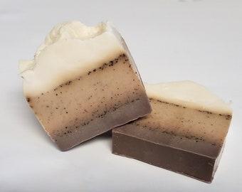 Vanilla Latte Handmade Exfoliating Soap