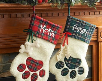 Personalized Pet Christmast Stocking
