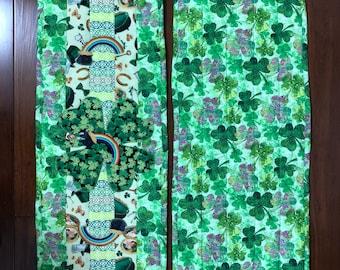 "St. Patrick's Day table runner / dresser scarf 12"" x 39"""