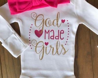 God Made Girls Bodysuit