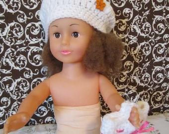 American Girl Doll Beret w/ Purse