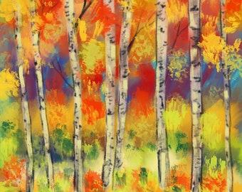 Abstract Autumn-3