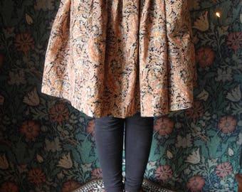 Vintage French Paisley Girls Skirt/ Clothing Age 5- 8