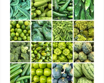 Fruit & Vegetable Art. Kitchen Decor. Downloadable Art. Modern Print. Food, Photography Art. Organic. Printable Art. Organic. Foodie Art.