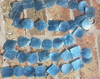 Strand of capiz shells