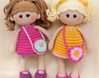 PATTERN Pumposhka doll PDF crochet doll pattern