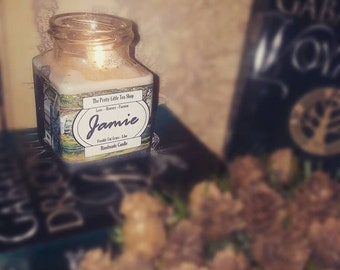 Jamie inspired candle - Handmade Candle - Literary Love Interests - Book Inspired – Outlander