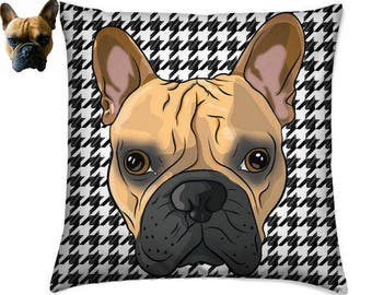 Custom Pet Portrait Pillow, Dog Portrait, Cat Portrait, Custom Pet Cushion, Dog Pillow, Pet Cushion, Dog Cushion, Pet Owner Gift, Dog Gift