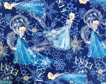 Child's Long Sleeve Art Smock - Frozen - Elsa  - Blue