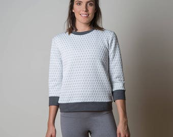 The Fraser Sweatshirt , Paper Pattern by Sewaholic