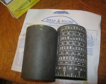 Wrap Around Pipe Measure, Pipe Measuring Tool