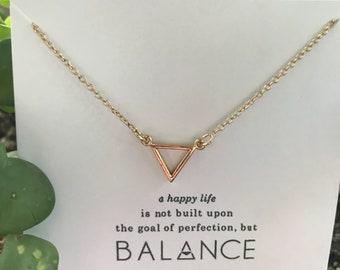 Balance necklace