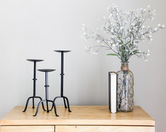 Modern Chic Candle Holders (Set of 3)