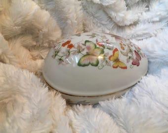 Vintage Avon porcelain egg
