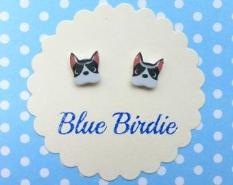 French bulldog earrings dog jewellery French bulldog jewelry dog stud earrings dog earrings dog jewelry dog cute dog earrings gifts for her