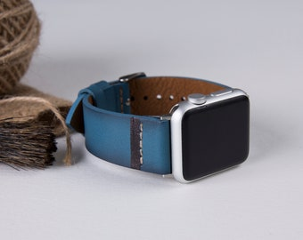 Leather Apple Watch band, 42mm, 38mm, Leather watch band, Apple watch strap, iwatch band, Apple watch leather band, iwatch strap