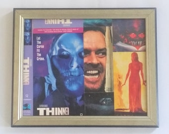 Collage made out, Stephen King, Vhs covers, Horror movies