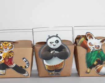 Kung Fu Panda take out favor boxes