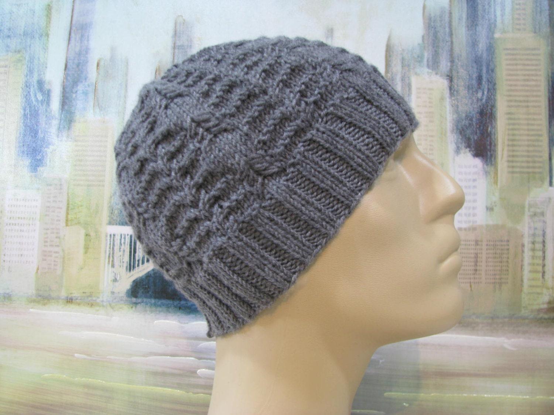 Men\'s Hat Pattern \'Benny\' Men\'s Knitted Hat