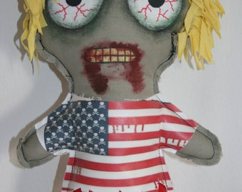 Surfer  Zombie doll  13 inches 33 cm