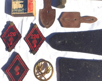 All items in the 126th regiment 1939-1945 (?)