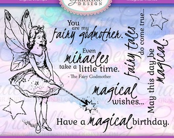 Magical Wishes - Digital Stamps
