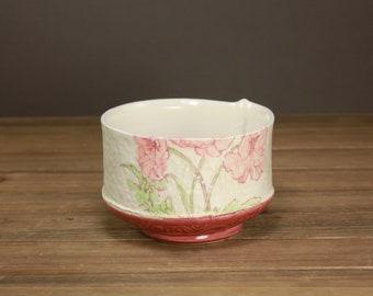 Poppy Bowl| Garden Art| Home Decor| Summer Housewares| Gift for Garden Lover| Spring Art
